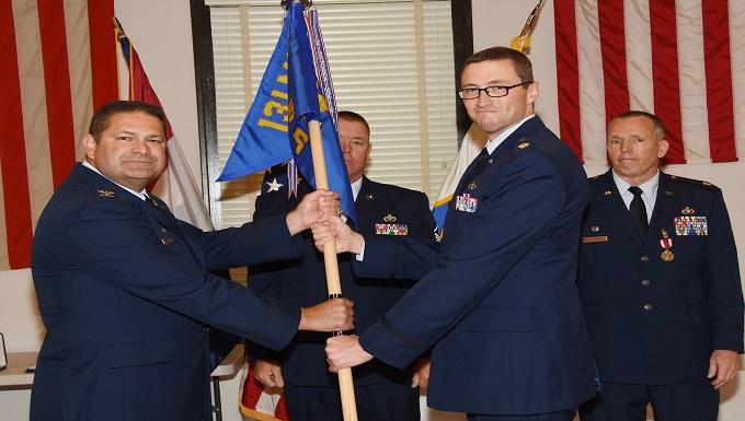 Major Nelsen Takes Command of 131st Civil Engineer Squadron