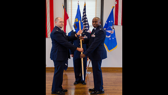 Three assume squadron command with Missouri Guard's 157th Air Operations Group